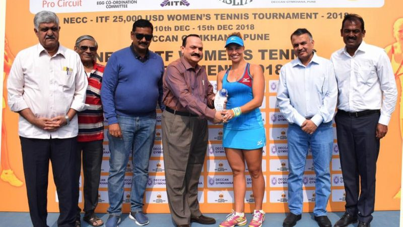 Savinykh wins 18th edition of NECC Deccan ITF $25000 Women's Tennis Tournament