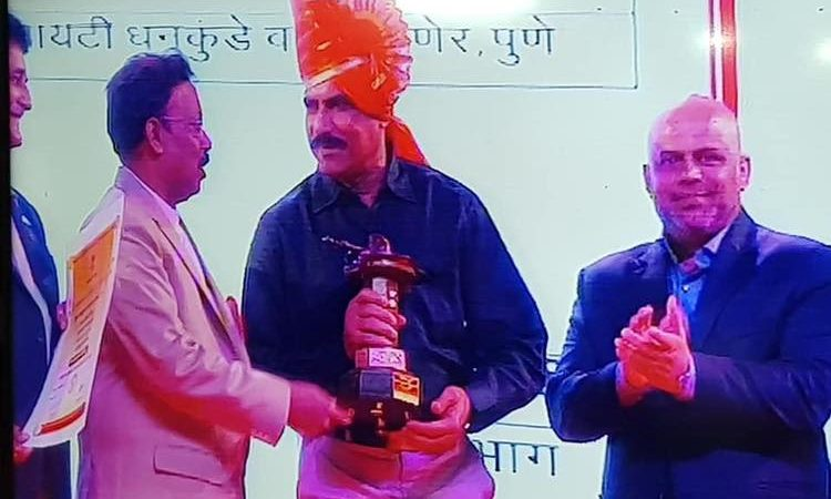 Congratulations Rutuja Bhosale for receiving the coveted Shiv Chattrapati award
