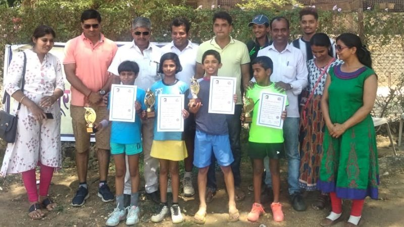 Photos: MSLTA KSA Maharashtra State Ranking Under 10 Tennis Tournament 2019