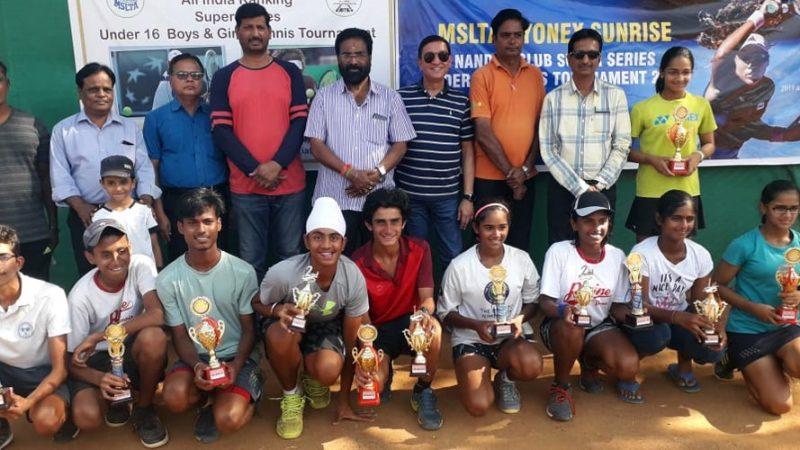 Photos: MSLTA – Yonex Sunrise Nanded Club Super Series Under 16 Tennis Tournament 2019