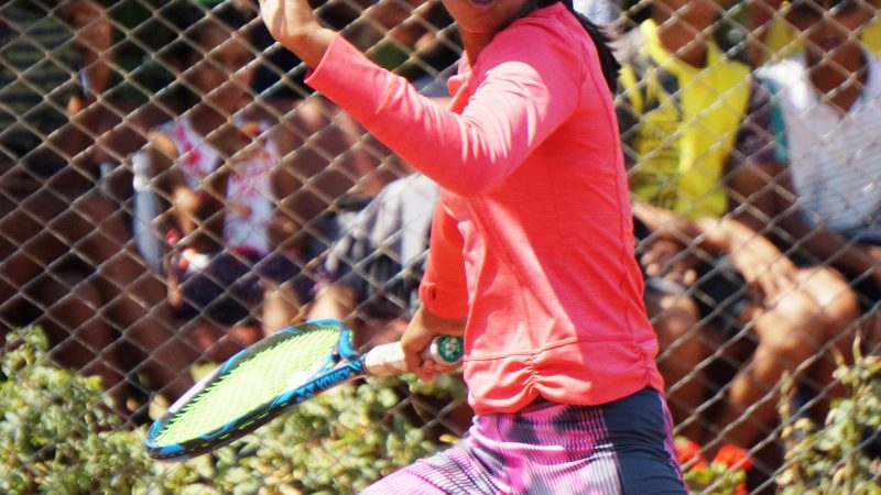 Madhurima Sawant upsets top seed at MSLTA Yonex Sunrise Hotel Ravine Under 14 National Ranking Tennis Tournament 2019.