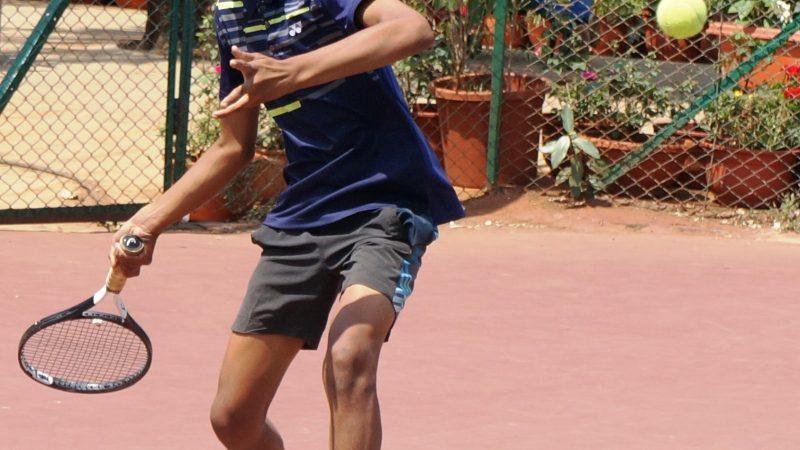 Qualifiers spotted at MSLTA Yonex Sunrise Hotel Ravine Under 14 National Ranking Tennis Tournament 2019.