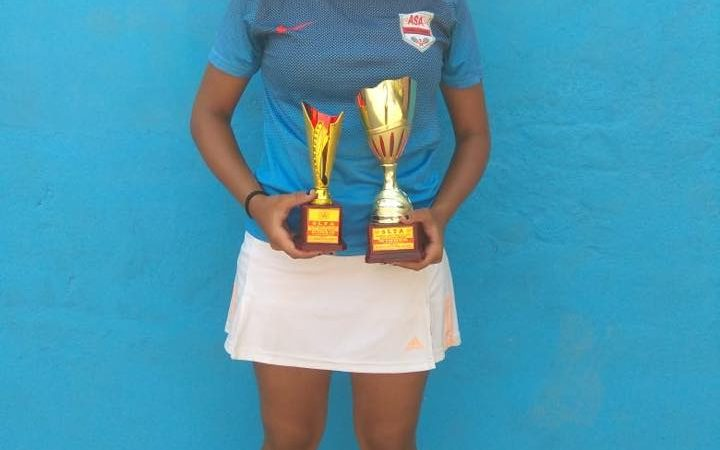 Congratulations to MSLTA vision player and ASA – NMSA player AKANKSHA NITTURE