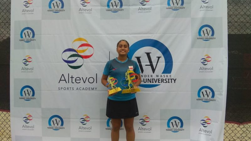 Congratulations to MSLTA Vision Player Akanksha Nitture