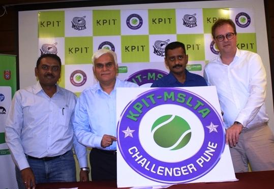 Prajnesh Gunneswaran, Sumit Nagal in action at sixth edition of KPIT – MSLTA Challenger.