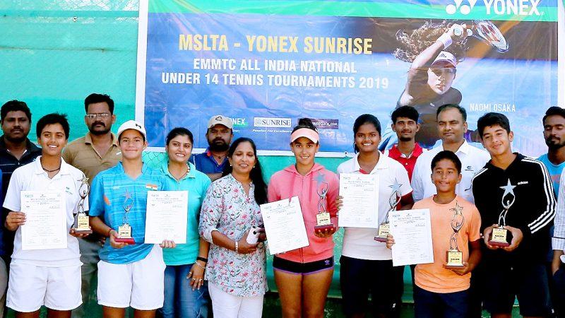 Chavan, Bandaru, Marathe Mutalya in Finals of MSLTA Yonex Sunrise under 14 National Tennis Tournament