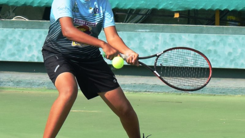 Babar upsets eighth seed at the MSLTA-Yonex Sunrise All India Ranking Championship Series Under 14 Tennis Tournament