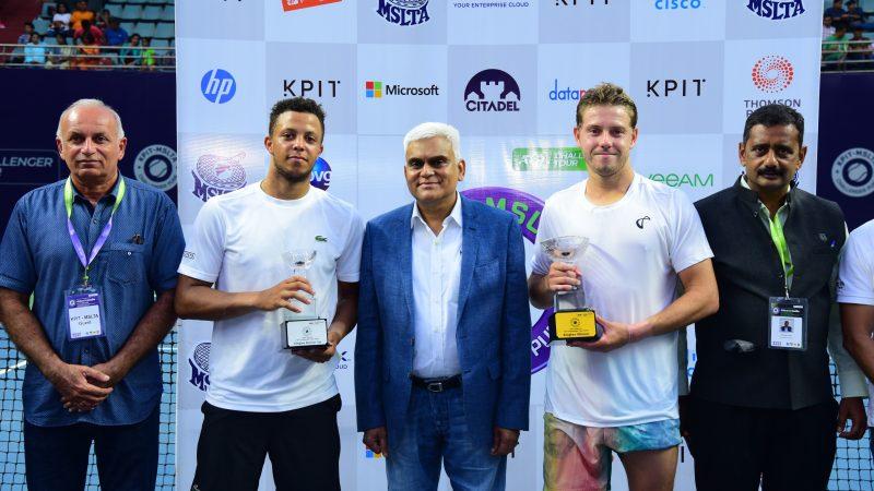 Duckworth wins singles title at KPIT MSLTA Challenger