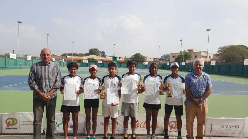 Samarth and Asmi wins MSLTA under 12 Masters 2019