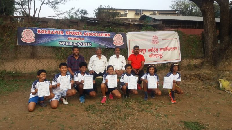 Ayan and Prisha emerge champions in MSLTA under 10 Masters.
