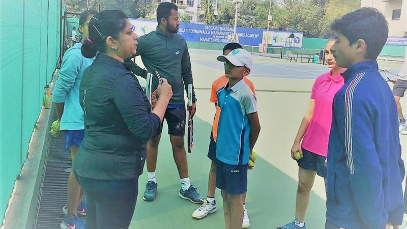 30 ball kids selected to take part in the third edition of Tata Open Maharashtra