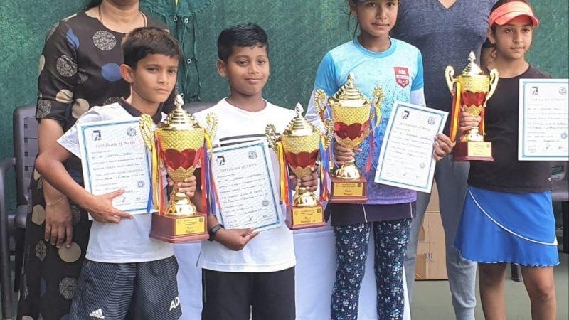 Daksh Patil and Saumyaa Tamang triumph in Cricket Club of India Maharashtra State Ranking under 10.