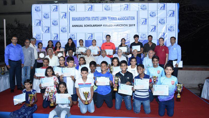 Bhosale, Kadhe, Jain and Dhamne win MSLTA Annual awards