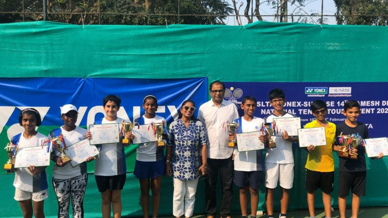 Paparkar, Bhasin, Reddy in line for double crown at the 14th Ramesh Desai Nationals Under 12 Tennis Tournament