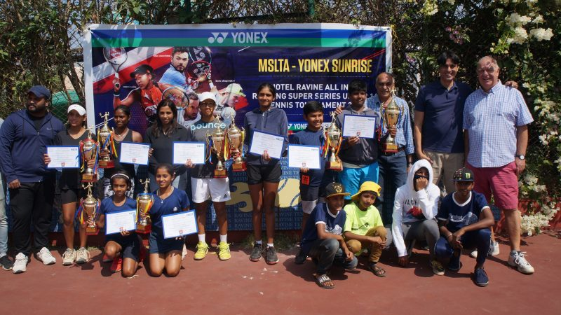 Asmi Adkar and Darshan Reddy wins the Hotel Ravine Super Series under 14 Tournament