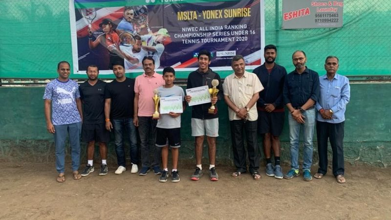 Mehvish Shaikh and Ayaan Girdhar clinch titles at the NIWEC Championship Series Under 16 Tournament