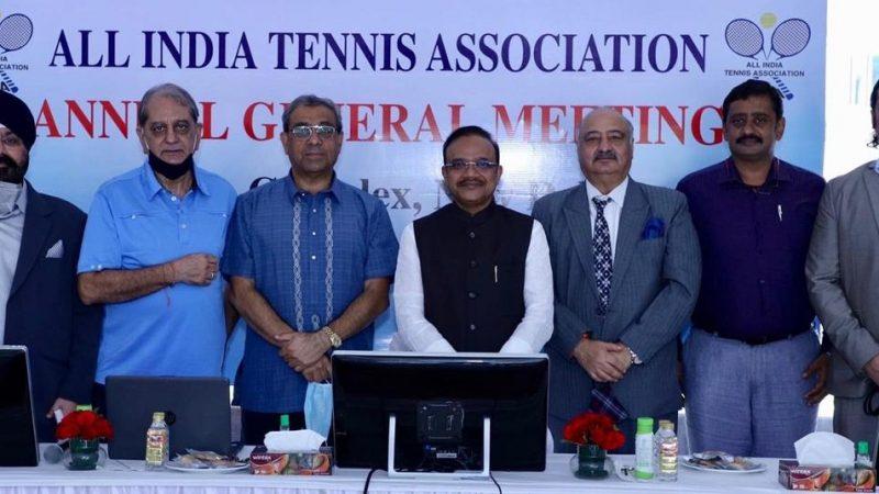 Bharat Oza VP , Sunder Iyer is new Jt Secretary of AITA