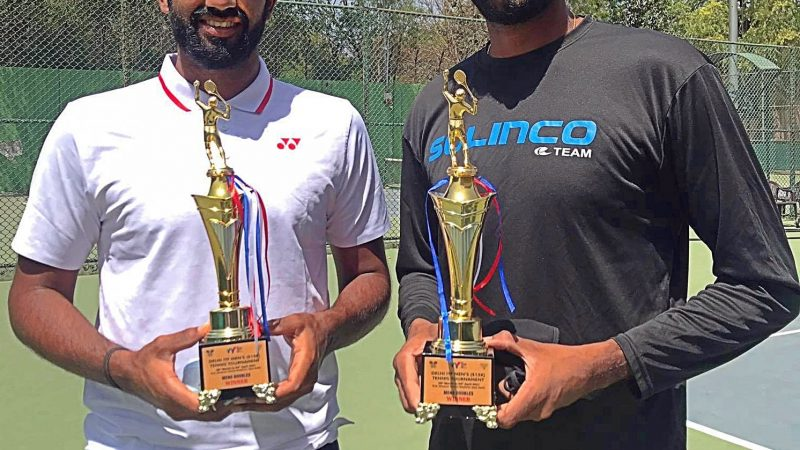 Congratulations Arjun Kadhe for winning his second ITF World Tennis Tour doubles title In a row