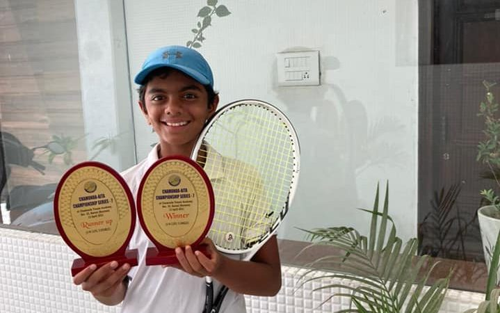 Congratulations to Pune girl Prisha Shinde for finishing singles winner