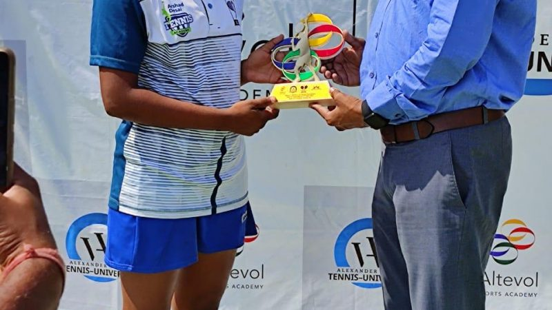 Congratulations to Kolhapur girl Aishwarya Jadhav for finishing runners up