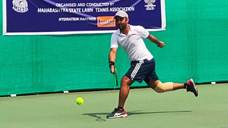 Kothari , Wallia upset top seeds at the MSLTA ITF Seniors S100 Tennis Tournament