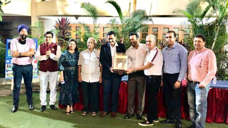 Khar Gymkhana felicitated Mr. Sunder Iyer, Hon. Secretary MSLTA and Hon. Joint Secretary AITA