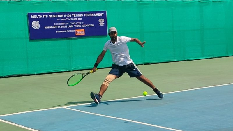 Kothari continues Upset spree at the MSLTA ITF Seniors S100 Tennis Tournament